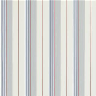 aiden stripe - navy / red / cream