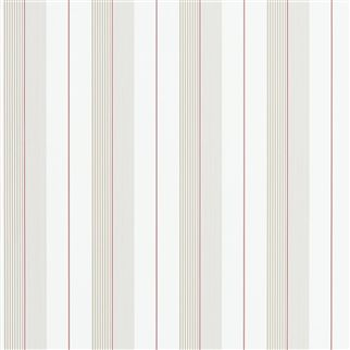 aiden stripe - natural / red