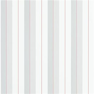aiden stripe - granite / red