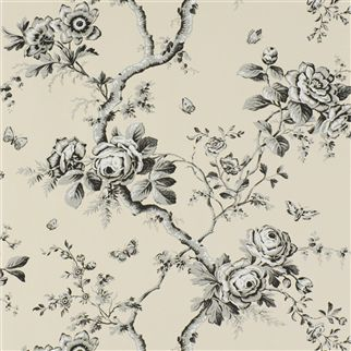 ashfield floral - etched black