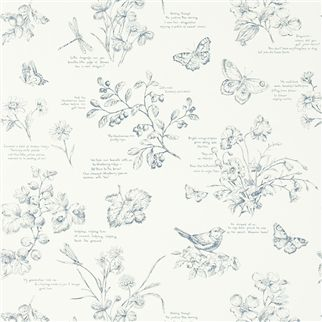 nature study toile - elderberry