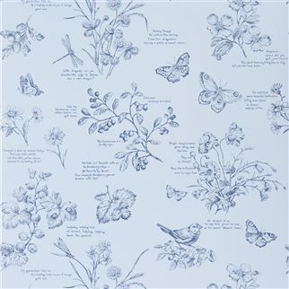 nature study toile - bluebell