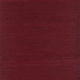 ionian sea linen - lacquer red