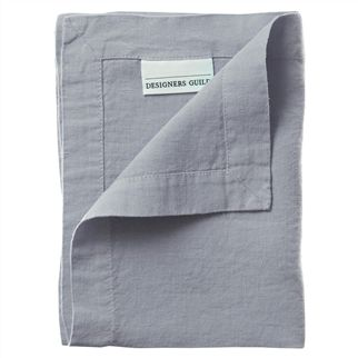 Lario Pale Grey Placemats & Napkins