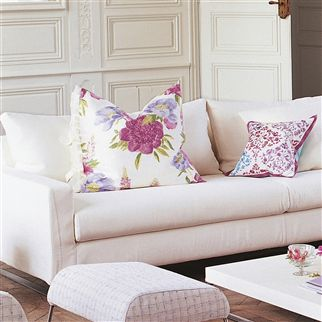 brera - geranium fabric | Designers Guild Essentials