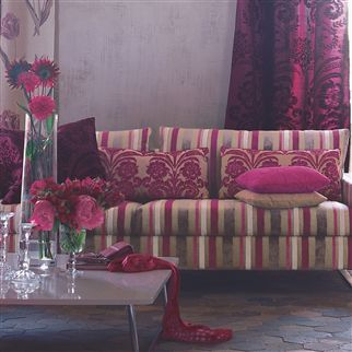 ombrione - moss fabric | Designers Guild