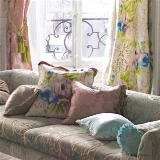 fontange - ivory fabric | Designers Guild