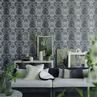 kashgar - gold wallpaper | Designers Guild