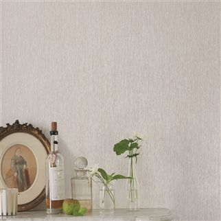 obi - cocoa wallpaper | Designers Guild