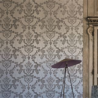 portia - pearl wallpaper | Designers Guild