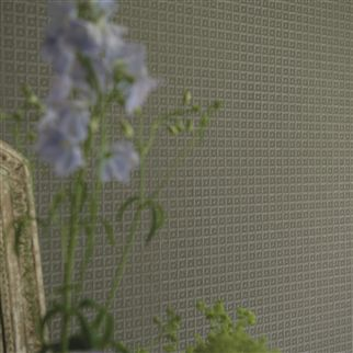 vever - graphite wallpaper | Designers Guild