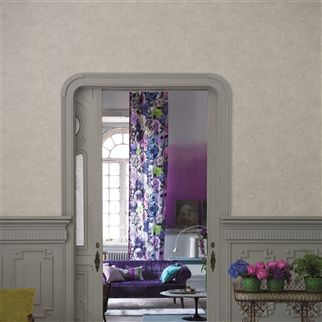 celestine - graphite wallpaper | Designers Guild