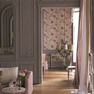 musette - heather wallpaper | Designers Guild