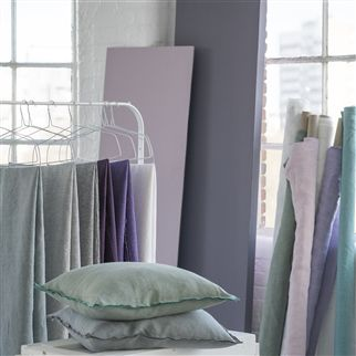 brera lino - chalk fabric | Designers Guild Essentials