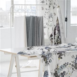 brera lino - dove fabric | Designers Guild Essentials