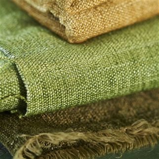 bilbao - olive fabric | Designers Guild Essentials