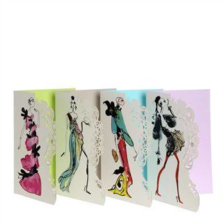 Haute Couture Notecards Set of 8