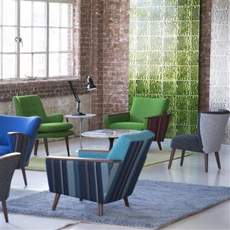 serge - grass fabric | Designers Guild