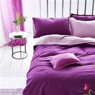 Biella Berry & Rose Bed Linen