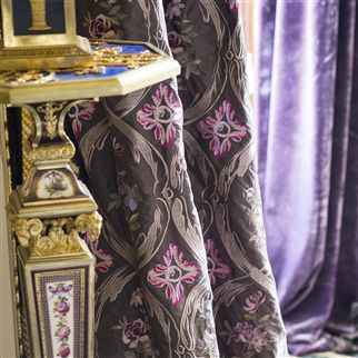 carrack - amethyst fabric | Royal Collection