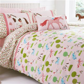 Hello Kitty Pony Pastures Kids Bed Linen