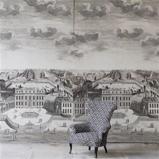 charles II velvet - graphite fabric | Royal Collection