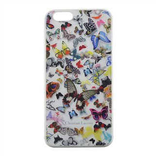 Butterfly White Hard Back iPhone Case
