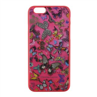 Butterfly Pink Hard Back iPhone Case