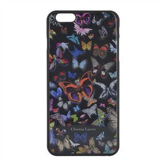 Butterfly Black Hard Back iPhone Case