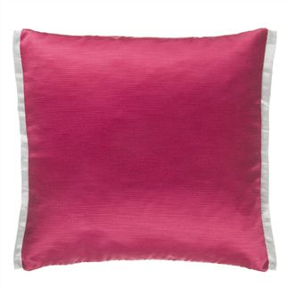 Pampas Fuchsia Cushion