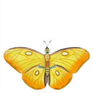 Yellow Butterfly Moblie