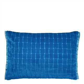 Leighton Cobalt Throw Pillow