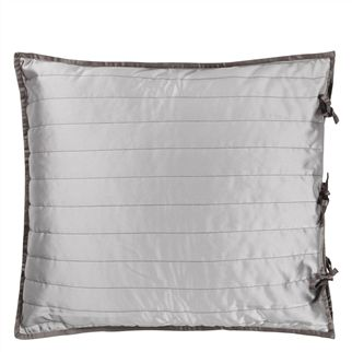 Tiber Slate & Zinc Quilts & Pillowcases | Designers Guild
