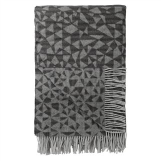 Voysey Charcoal Throw