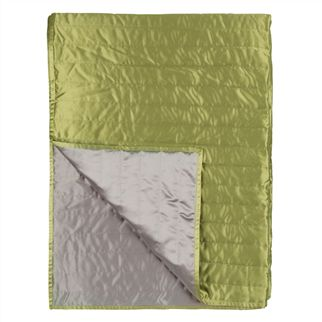 Tiber Pistachio & Dove Quilts & Shams