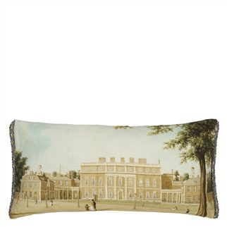 Buckingham House Linen Decorative Pillow