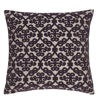 QUEEN VICTORIA LILAC CUSHION 40X40 CM - Reverse