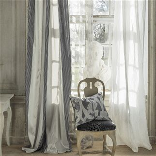 loggia - graphite fabric | Designers Guild