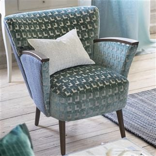 pugin - ocean fabric | Designers Guild
