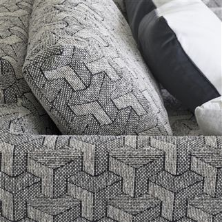 escher - zinc fabric | Designers Guild