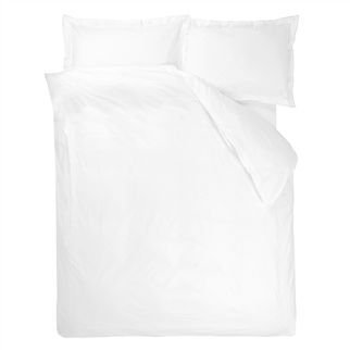 Usa Astor Bianco Alabaster Queen Duvet Cover