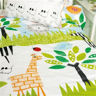 Wildlife Kids Bedding