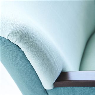 conway - turquoise fabric | Designers Guild Essentials