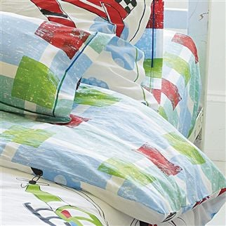 flying high kids bedding
