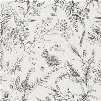 Fern Toile - Etched Black
