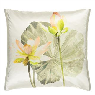 Nymphaea Birch Decorative Pillow
