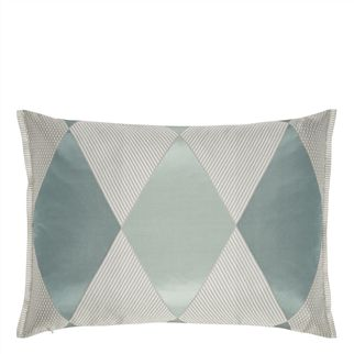 Castillon Aqua Decorative Pillow