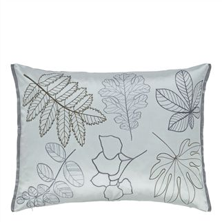 versailles garden platinum cushion