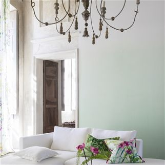 saraille - pale jade wallpaper | Designers Guild