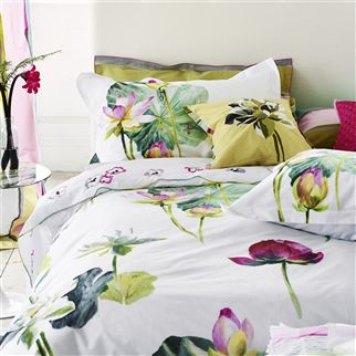 Nymphaea Peony Bed Linen